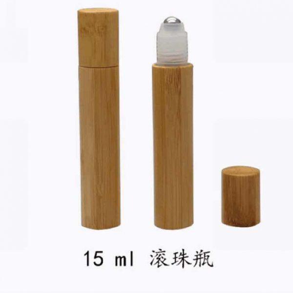Chai bi lăn bọc gỗ 15ml
